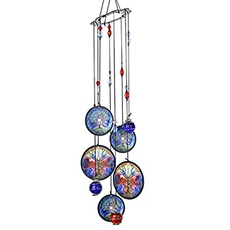 Campanas de Viento Wind Chimes Outdoor Decor 18 » Metal Memorial WindchimesTree of Life Condolencia Wind Chimes Gift For Garden Home Yard Hanging