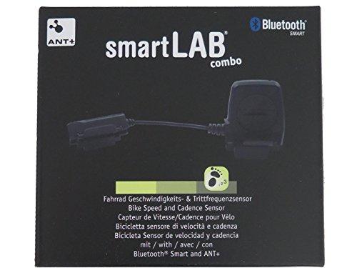 smartLAB combo Smarter Geschwindigkeits- & Trittfrequenz Sensor | Fahrradsensor mit ANT und Bluetooth Smart |Trittfrequenzsensor für Fahrradcomputer, iOS, Android, Apple, iPhone -