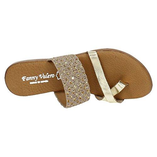 Donna Zapatop Sandali Zapatop Sandali Oro Oro Donna 5XaxqEw7