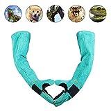 Haustierhandschuhe, verstärktes Leder, Bissschutz, langlebig, atmungsaktiv, Leinenfutter, für Katzen, Hund und Gartenarbeit