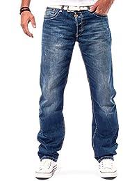 Cipo & Baxx Herren Jeans Cargo Denim C-0688