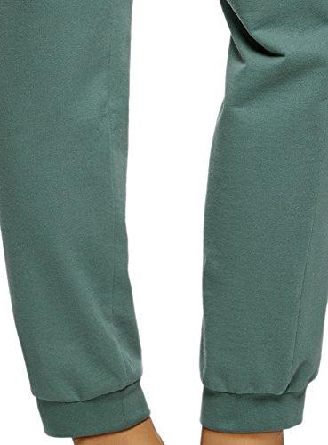 oodji Ultra Damen Jersey-Hose (3er-Pack) Mehrfarbig (19EXN)