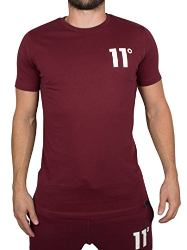 11-degrees-uomo-core-logo-t-shirt-rosso-medium