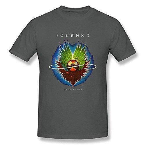 Arnoldo Blacksjd Men's Journey Band Evolution Album T Shirt Large