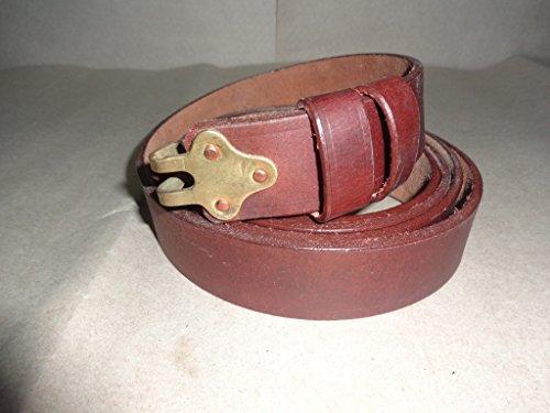 warreplica US M-1887 Trapdoor Springfield Krag 1873 1884 1888 1892 1898 Ledergewehrschlinge - Reproduktion