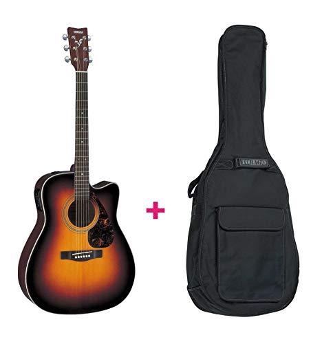 Set Yamaha FX370C Tobacco Brown Sunburst-Guitarra aparatos electroacústicos (Funda)