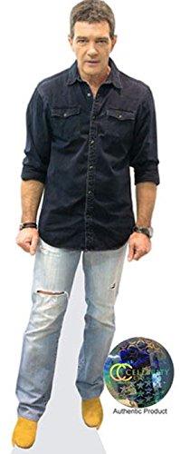 Antonio Banderas (Jeans) Pappaufsteller lebensgross