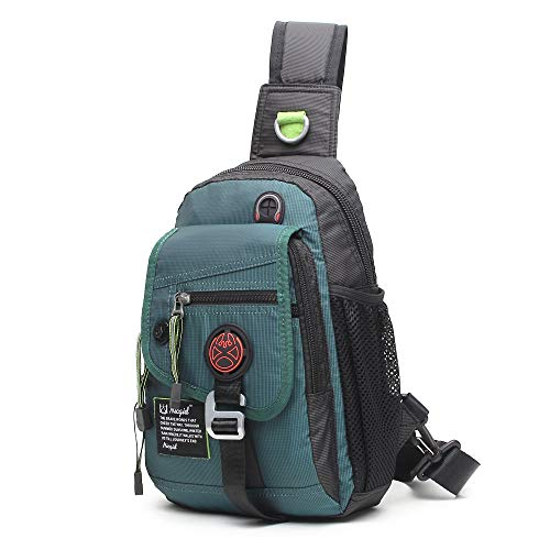 9c2b5d66af Sling Bag Chest Shoulder Backpack One Strap Daypack Crossbody Hiking Bags  Bicycle Rucksack School Handbag Men