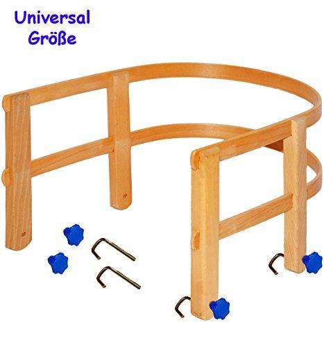 Schlittenlehne aus stabilen Holz - universal passend - für fast alle Schlitten - mit Schrauben / für Kinder und Baby / Lehne Kinderschlitten - Holzschlittenlehne - Davoser - Davos / Babyschlitten Rückenlehne - auch für Hörnerrodel / Hörnerschlitten - Babyschlittenlehne - Babyrückenlehne / Holzschlittenrückenlehne / Rodelschlitten / Rodel