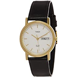 Timex Classics Analog Champagne Dial Men's Watch - A500
