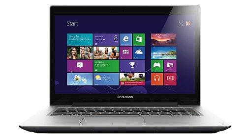 Lenovo U430 35,6 cm (14 Zoll Full HD LED) Ultrabook (Intel Core i7-4500U, 3GHz, 8GB RAM, 256GB SSD, NVIDIA GeForce GT 730M, Touchscreen, Windows 8) grau