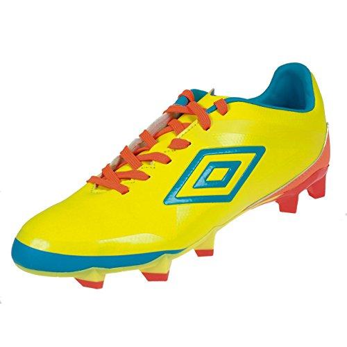Umbro–VELOCITA Club Amtsheftung–Schuhe Fußball Lamellen Gelb
