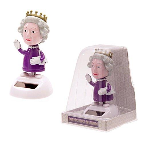 Elizabeth Kostüm Krone Queen - H.R.H. The Dancing Queen. Solar Powered. Dancing The Royal Boogie.