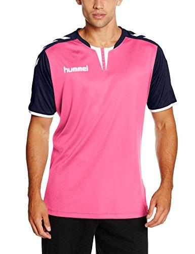 Hummel Herren Trikot Core Short Sleeve Poly Jersey, Rose Violet/Marina, M, 03-636-4329 (Jersey Fashion Pink)