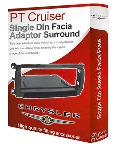chrysler-pt-cruiser-stereo-radio-cd-facia-fascia-adapter-panel-trim-with-pocket