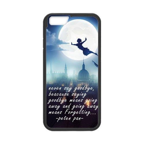 Disney Peter Pan Film de protection Nouveau Attractive couleur peinture dur protecteur de peau et étuis de protection Case Etui Coque pour Apple iPhone 66S (4.7inch)