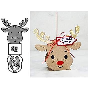 Xmas Candle Metal DIY Cut Die Stencil Scrapbook Album Paper Card Emboss Craft JB