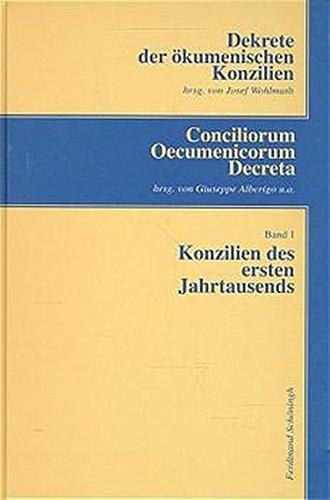 Dekrete der ökumenischen Konzilien, 3 Bde.; Conciliorum Oecumenicorum Decreta, 3 Bde., Bd.1, Konzilien des ersten Jahrtausends