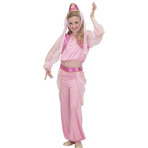 aschengeist Kinderkostüm 140 cm 8-10 Jahre Orient Haremsdame Märchenkostüm Bezaubernde Jeannie Arabische Prinzessin Orientkostüm 1001 Nacht Faschingskostüm Karnevalskostüme Kinder Mädchen (Flaschengeist Kostüm Für Mädchen)