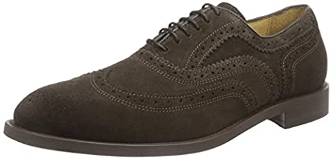 Hudson London Heyford Suede Brown, Chaussures à Lacets Homme, Marron,