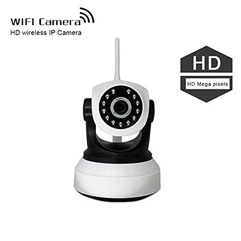 IP Cam Set & Ueberwachungskamera Mit Monitor - Sicherheitskamera Mini Wifi Kamera Auto / Dome Kamera Indoor Wlan P2P WIFI IP-Kamera / Unterstützung Telefone Pad und PC