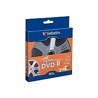 Verbatim Digital Movie DVD-R 4.7جيغابايت 8X 25 قرص صلب 94866 10pk Bulk Box 1