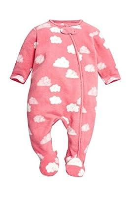 next Bebés Niñas Pijama Pelele De Felpa Estampado De Nube Suave Lujoso (0 Meses-3 Años)