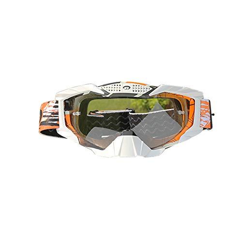 Coniea Fahrradbrille Polarisiert PC Radsportbrille Herren Sicherheitsbrillen Transparentes Orange