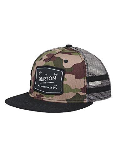 Burton Herren BAYONETTE Snapback Kappe, Camo, One Size Camo Mesh-back Baseball Kappe