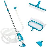 Intex - 58959 - Accessoires Piscines - Kit D'Entretien Vac + - Kit Complet Pour Nettoyer Les Piscines Équipées D'Une Filtration De 3M3/H Minimum - Bleu