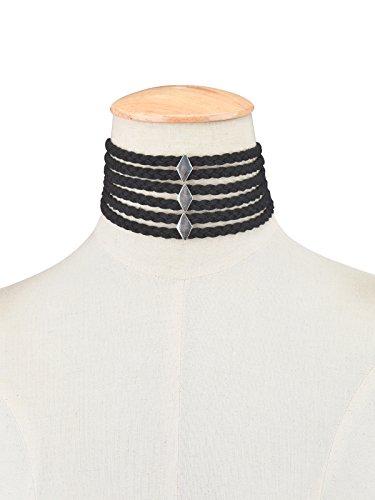 Yean Collier ras du cou avec Alliage Accessoires vintage Collier ras du cou pour femmes et filles