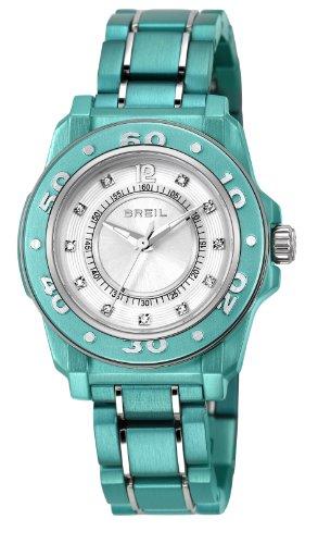 Breil - TW1105 - Montre Mixte - Quartz - Analogique - Bracelet Polyuréthane vert