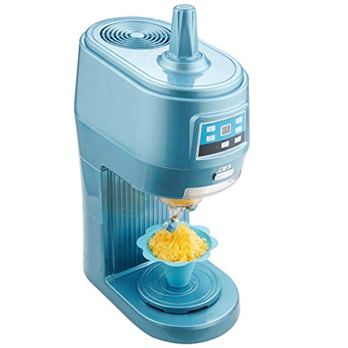 L@LILI Kommerzielle Eismaschine, Tee-Shop-Schnee-Maschine, elektrischer Schneeflocke-Eisbrecher, Eismaschine, kaltes Getränk-Geschäft Nahrungsmittelgrad-Material Schnee