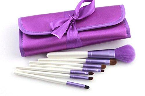 Qingsun Femme Pinceaux Maquillage Professionnel facile à porter, 7 pcs brush cosmetic