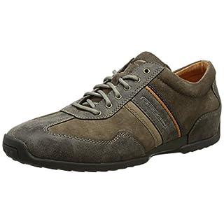 camel active Herren Space 24 Sneaker, Braun (Peat 30), 45 EU