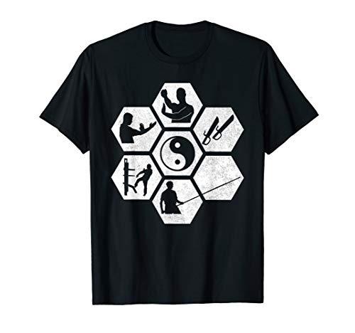 Wing Chun Shirt I Kampfsport Selbstverteidigung Yin Yang Tee