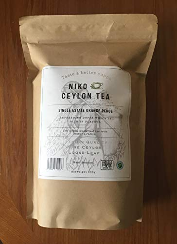 Ceylon Tea - Single Estate Orange Pekoe(500g Catering Pack) * Great Taste Awards Winner 2019