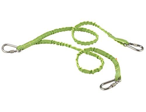 Ergodyne Squids outils et matériel de pêche-pied double en acier inoxydable Triple mousqueton