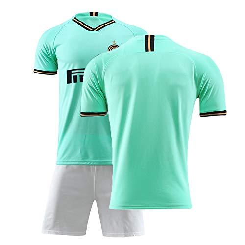 BoFlision Fußballtrikots 2019 2020 Club Milano Erwachsene Kinder Fußball Set Trikots Italien Trainingsanzug Uniformen Laufanzug Jacken Jungen Mädchen Sportanzug,B-0,S -