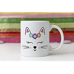 Crazy Cat Lady Mug, Cat Mug, Cat Gift, Personalised, Gift Idea for Cat Lover, Cat Coffee Mug, Custom Cat Gift, Cat Lady Birthday