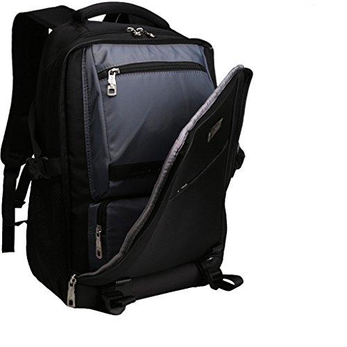 AMOS Rucksack Frau Reise Business Computer Tasche Student Tasche männlichen Arbeit Klasse Reisepaket Grau