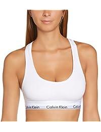 Calvin Klein Modern Cotton-Bralette, Soutien-Gorge de Sport Femme