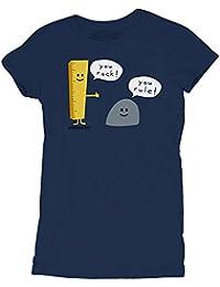 David and Goliath You Rock You Rule Womens T-shirt