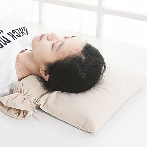 Mesmj Colonna cervicale cuscini privata cura cuscino collo del grano