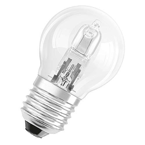 LAMPADA ALOGENA TRASPARENTE ATTACCO E14 DA 220V TIPO GOCCIA POTENZA DA 18-28-42W