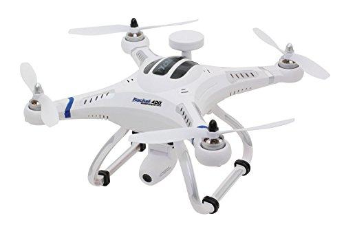 *XciteRC 15001700 – Ferngesteuerter RC Quadrocopter Drohne Rocket 400 GPS – RTF Version III mit HD-Kamera Mode 2*