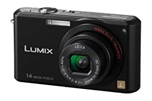 """Panasonic Lumix DMC-FX150 Appareil photo numérique compact Ecran LCD 2,7"""" Capteur 14,7 MP Zoom optique x3,6 Stabilisé OIS Noir"""