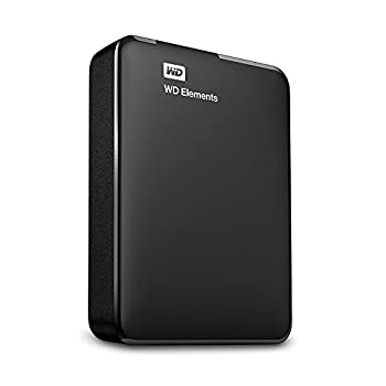 Western Digital Wdbu6y0040bbk-wesn 4tb Elements Tragbare Externe Festplatte Schwarz 1