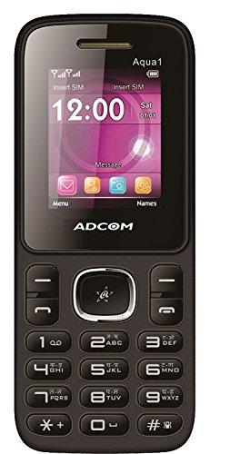 Adcom 1 Dual Sim Mobile Phone With Camera (Black & Green)