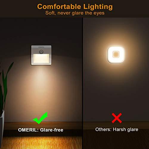 Zoom IMG-1 luce notte led batteria omeril